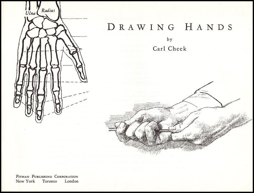CHEEK, C Drawing Hands (Pitman 15)