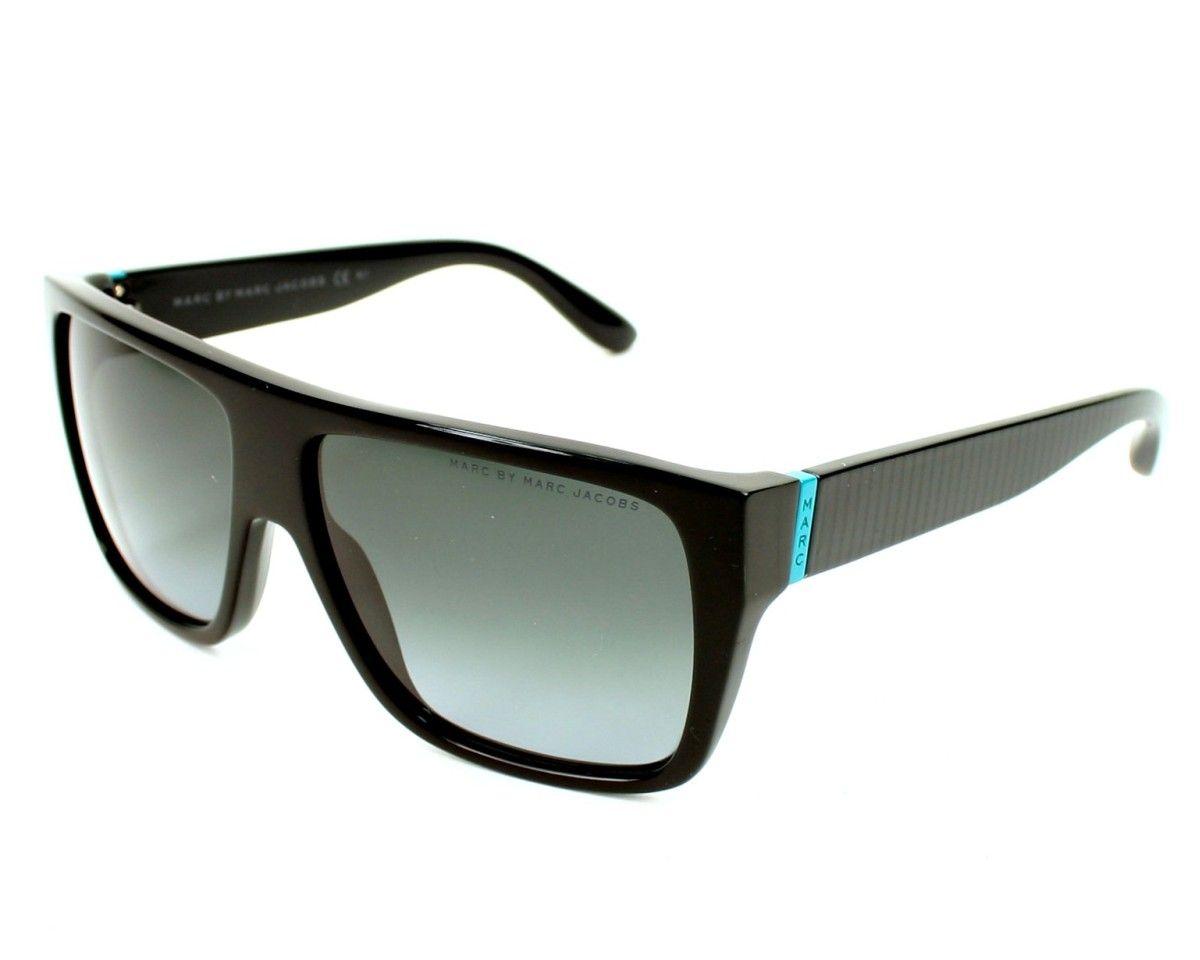 Achetez en ligne les lunettes de soleil Marc by Marc Jacobs MMJ287 S 29APT  Noir brillant et recevez-les chez vous sous 2-3 jours et la livraison est  ... b502a8632e59