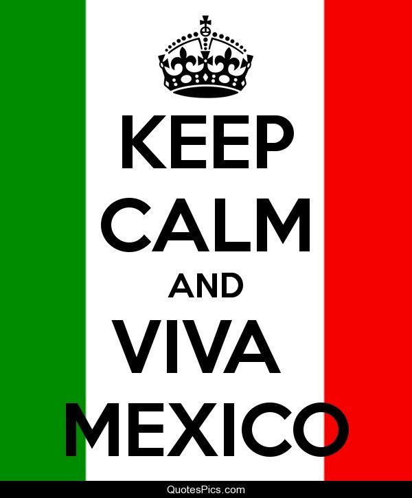 Keep calm mexican in the house