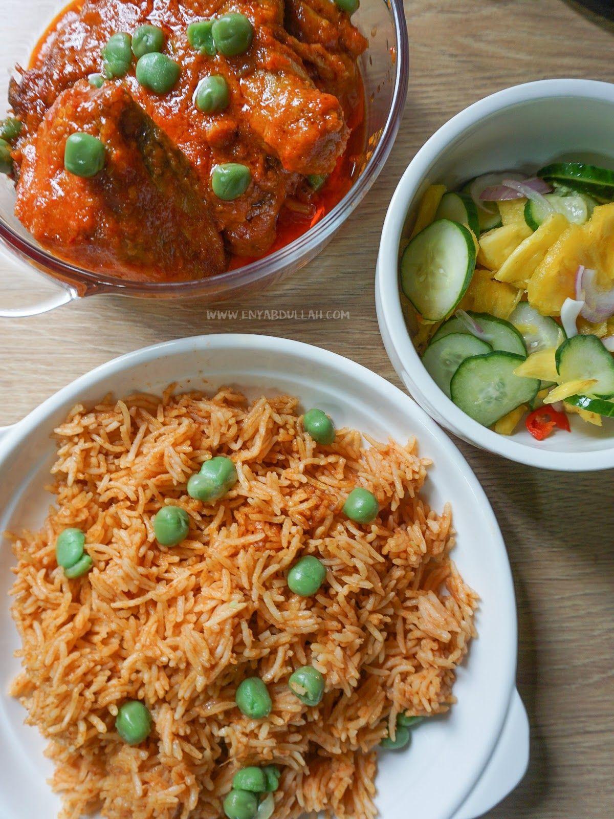 Resepi Nasi Tomato Ayam Masak Merah Kenduri Resepi Ayam Masak Merah Lauk Kenduri Nasi Tomato Sedap Ayam Resep Masakan Malaysia Resep Sederhana Resep Ayam
