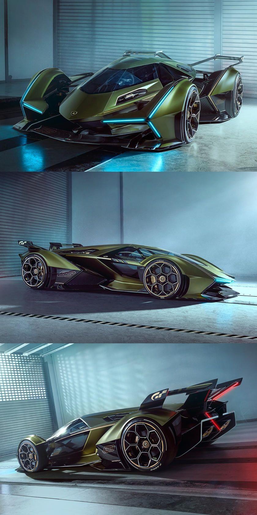 Lamborghini Lambo V12 Vision Gran Turismo Is Absolutely Wild