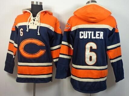 34e545c2c81 Chicago Bears Hockey Style Jersey Hoody