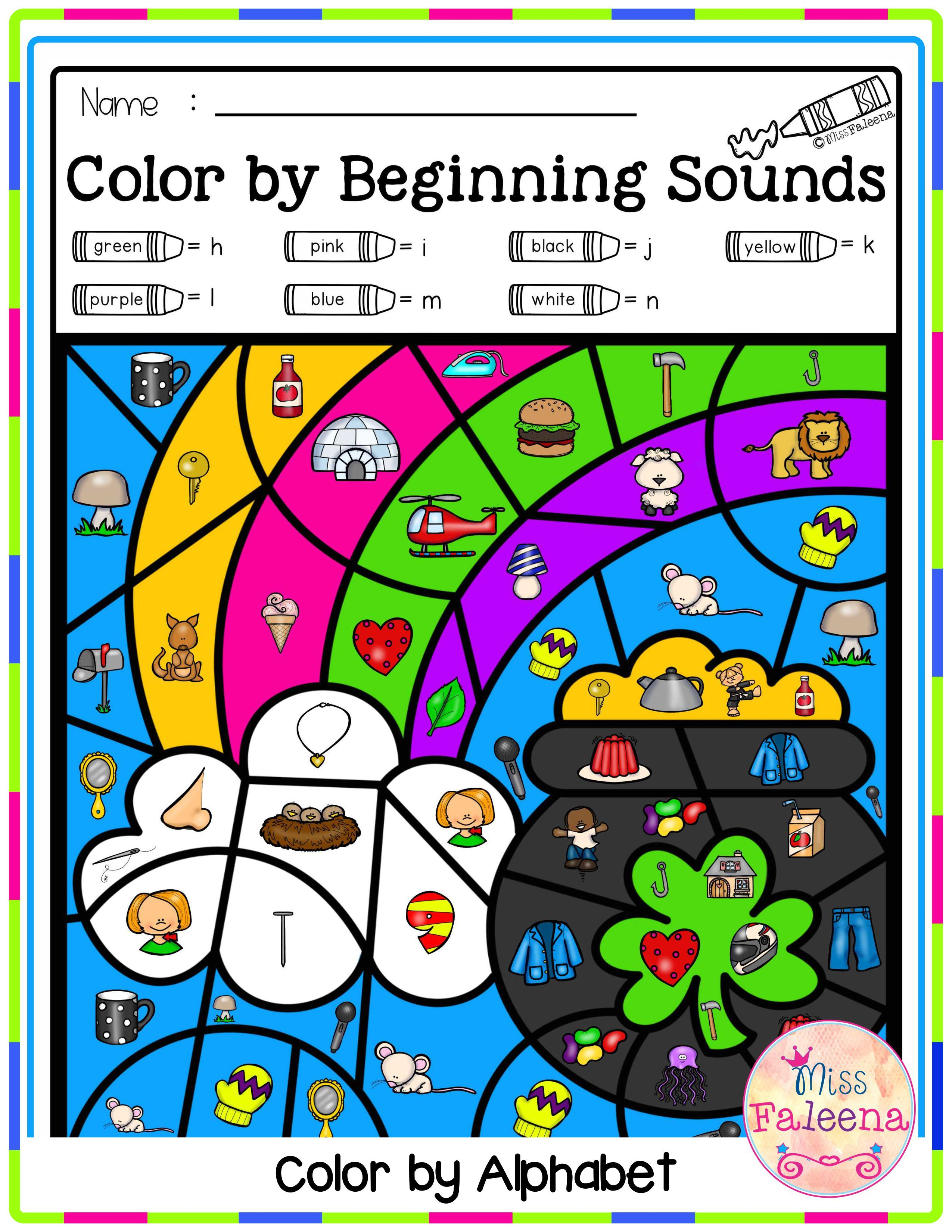 Spring Color By Code Alphabet Spring Literacy Centers Spring Colors Kindergarten Blogs [ 3300 x 2550 Pixel ]