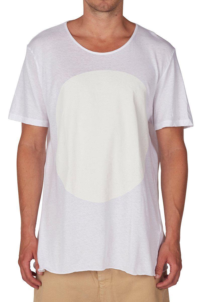 dot t.shirt white/undyed   bassike