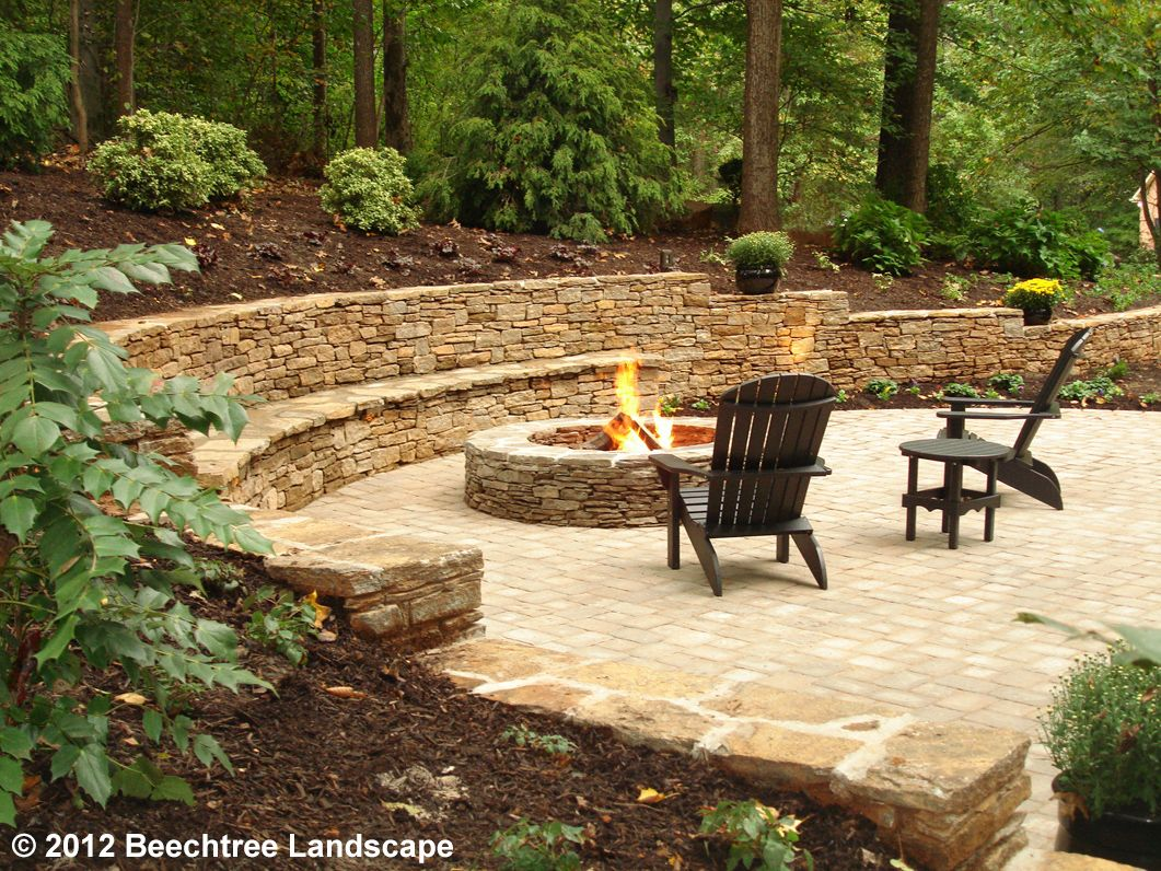 baltimore hardscape design services backyard fire fire on backyard fire pit landscaping id=64548
