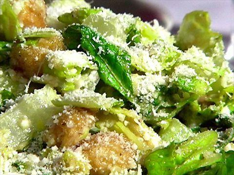 Caesar Salad Recipe Alton Brown