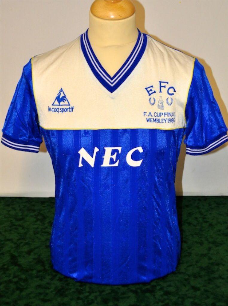 Kevin Ratcliffe Everton 1986 FA Cup Final Shirt