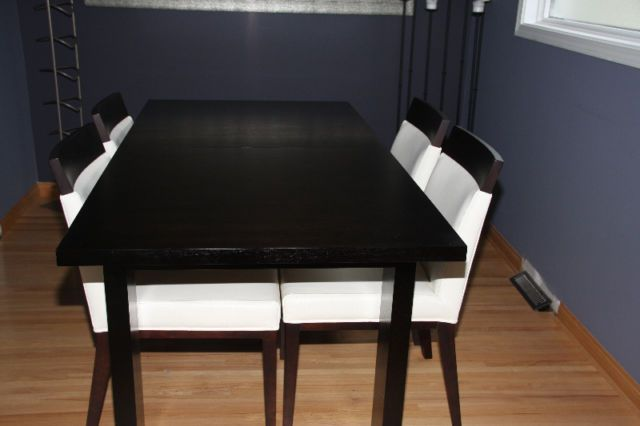 Marvelous Dining Table U0026 Chairs   Contempory Modern | Dining Tables And Sets | Calgary  | Kijiji