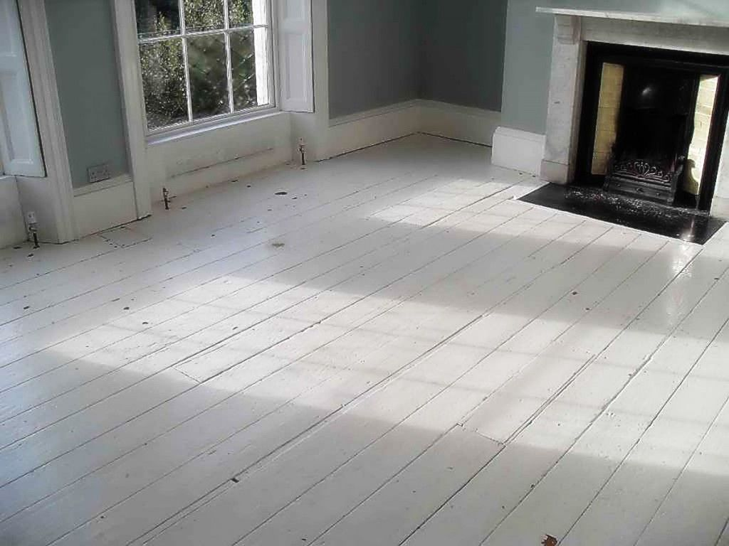 Best Painting Wood Floors Diy With A Good Fireplace And The Wall White Hardwood Floors