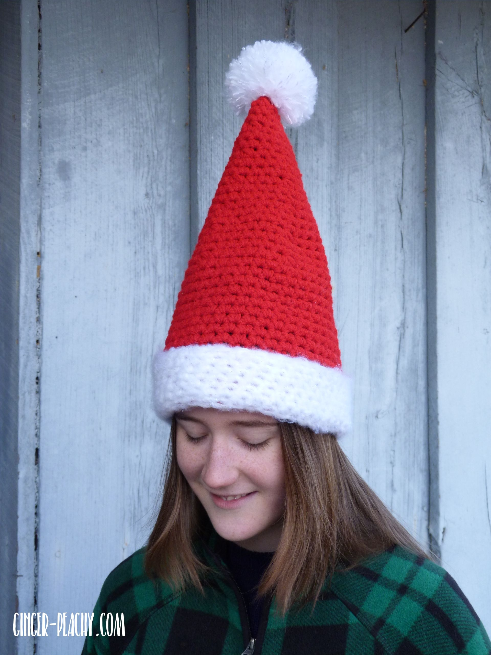 Chunky santa hat free crochet pattern at ginger peachy chunky santa hat free crochet pattern at ginger peachy bankloansurffo Images