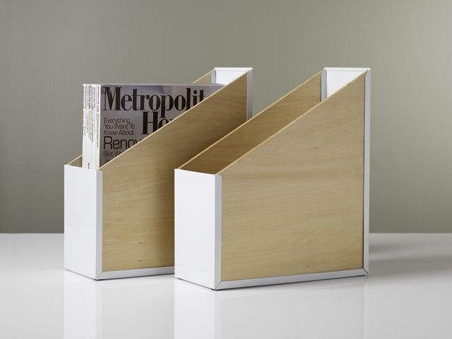 Une boite de rangement de bureau tendance scandinave Design