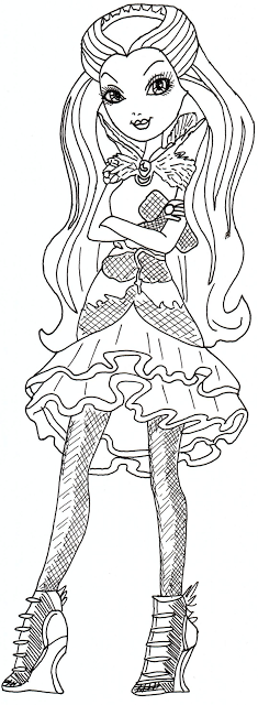 free printable ever after high coloring pages raven queen ever after high coloring sheet