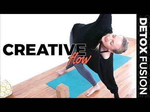 detox yoga fusion day 9 start slow as we melt into juicy
