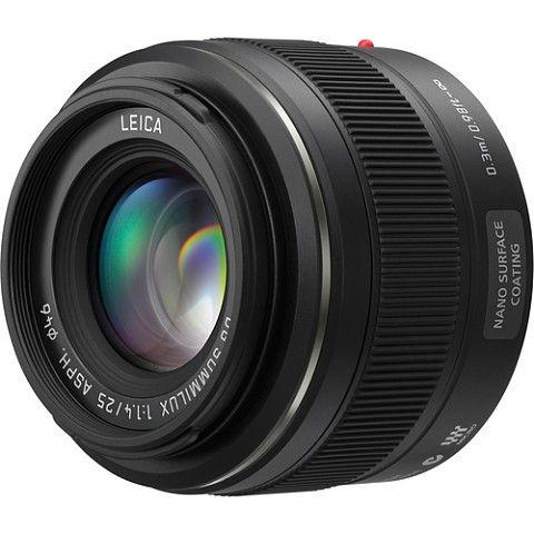 Panasonic 25mm F1.4 ASPH H-X025 Lens MXN 10100.00