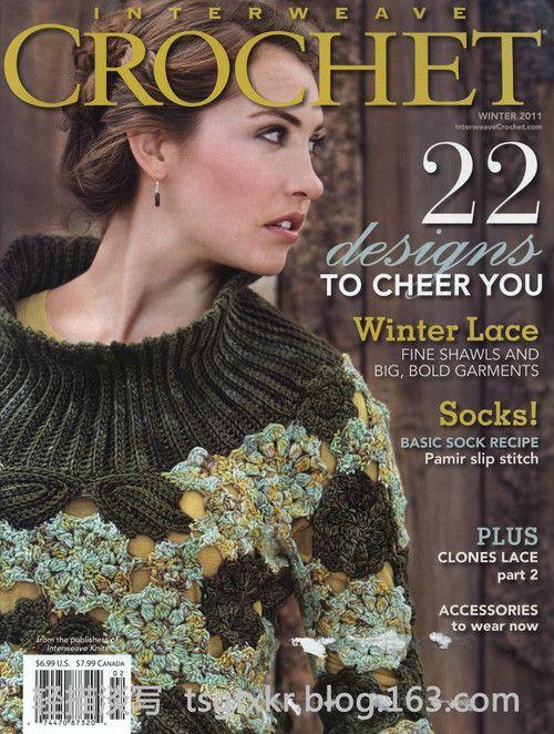 Interweave Crochet 2011 Winter - 轻描淡写 - 轻描淡写