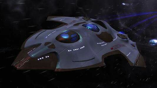 U.S.S Relatively NCV-474439  29th Century Wells - Class Federation Timeship