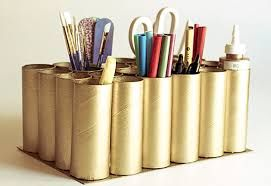 Resultado de imagem para reciclagem com rolo de papel higienico