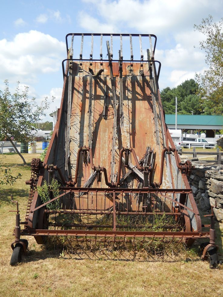 Image result for vintage rusted farm implements (With