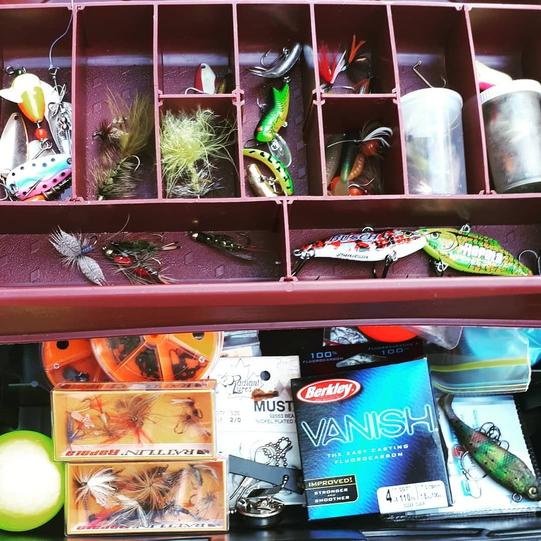 Too Many Flies And Lures Fishing