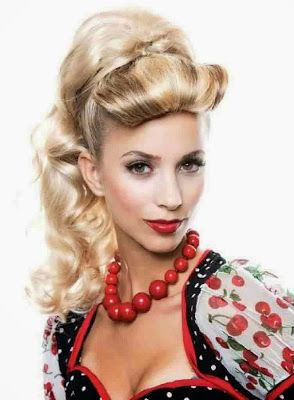 Exciting 50s hairstyles for long hair   1950s hairstyles ...