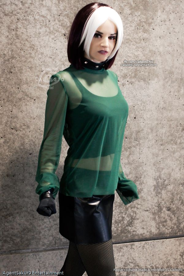 evolution cosplay rogue men X