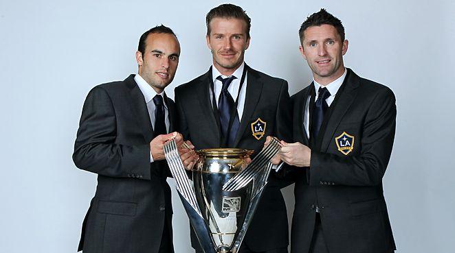 LA Galaxy Donovan, Beckham, Keane!! Irish in the house