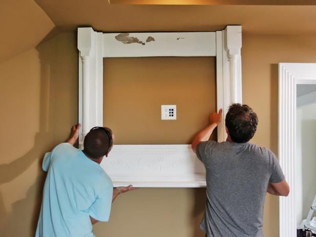How to Build a TV Wall Mount Frame | Tv wall mount, Tv walls and Diy ...