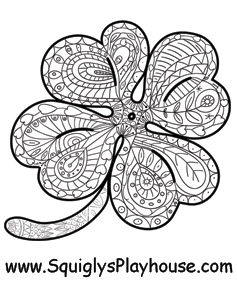 St Patrick S Day Coloring Pages For Kids Substitute Teaching