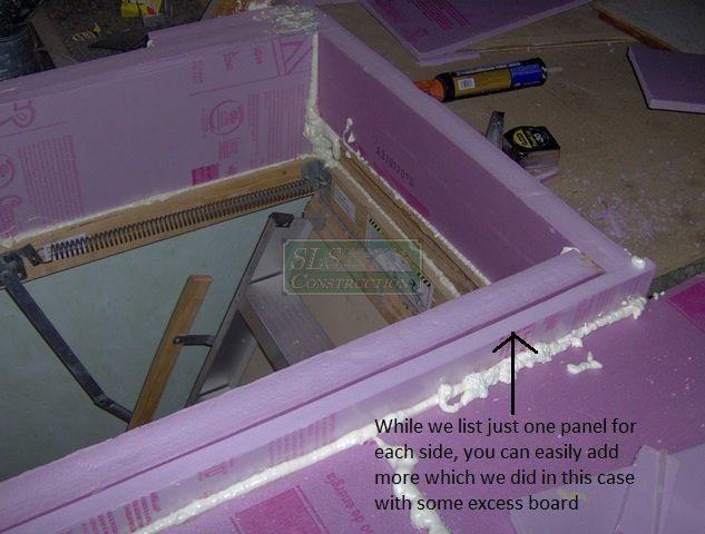 A Diy Attic Hatch Option Attic Renovation Attic Remodel Diy Skylight