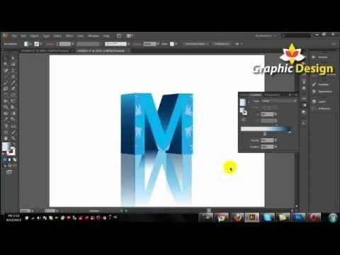 3d Text Illustrator Tutorial Adobe Illustrator Cs6 Illustrator Tutorials Adobe Design Adobe Illustrator Tutorials