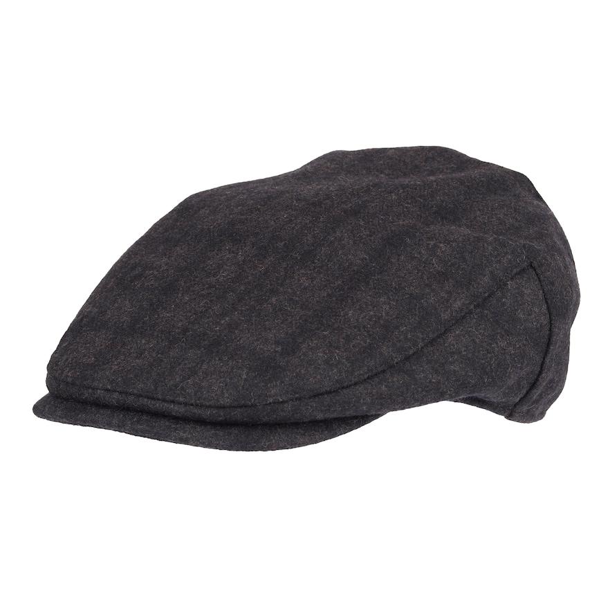 b8f540bb Men's Dockers Plaid Flat-Top Wool-Blend Ivy Cap, Size: Small/Medium, Dark  Grey