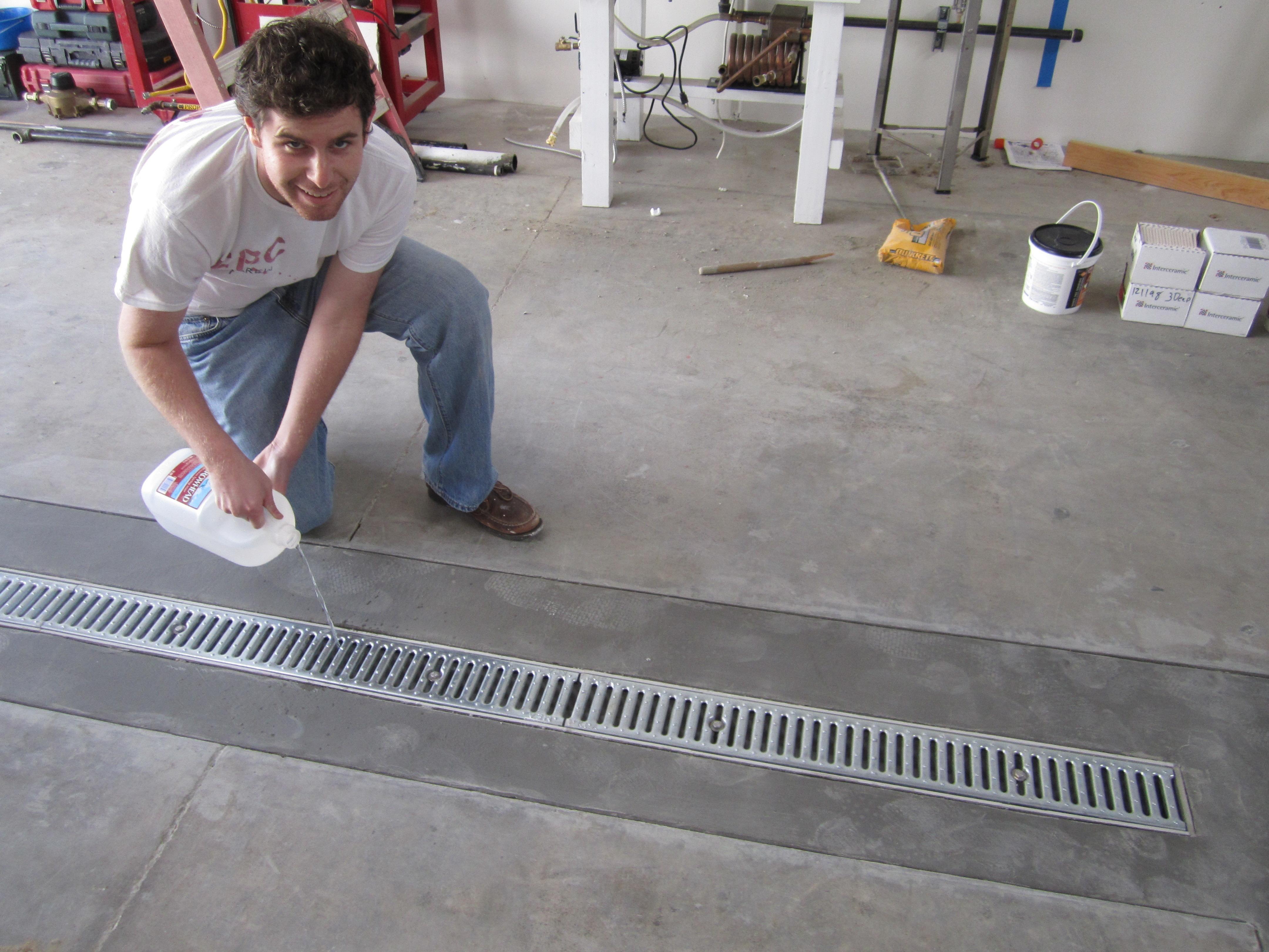Image Result For Floor Drains Floor Drains Garage Floor Garage