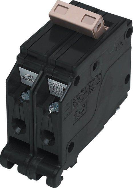 Cutler Hammer CH215 Double Pole 120V 15 Amp Plug-On Circuit