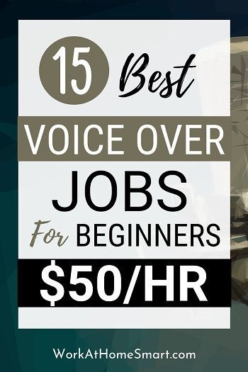 15 Best Voice Acting Jobs From Home