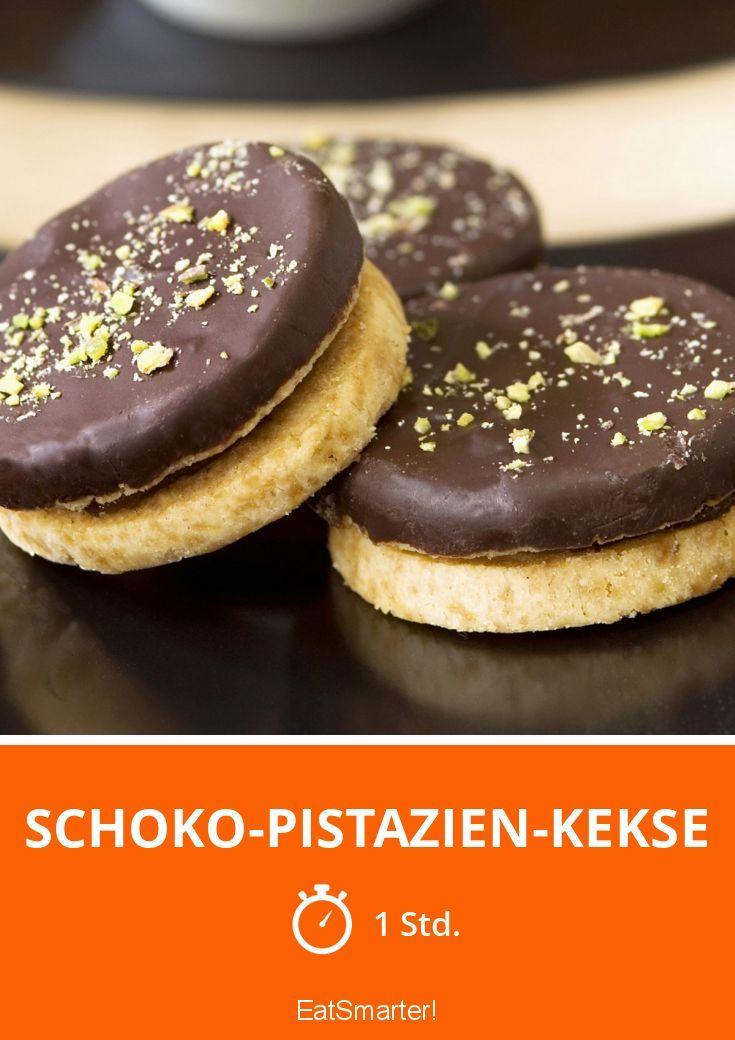Schoko-Pistazien-Kekse