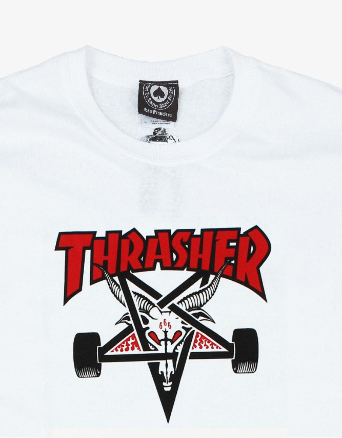 c11585a2845b Thrasher Magazine Skategoat two tone t-shirt | เสื้อยืด | Thrasher ...