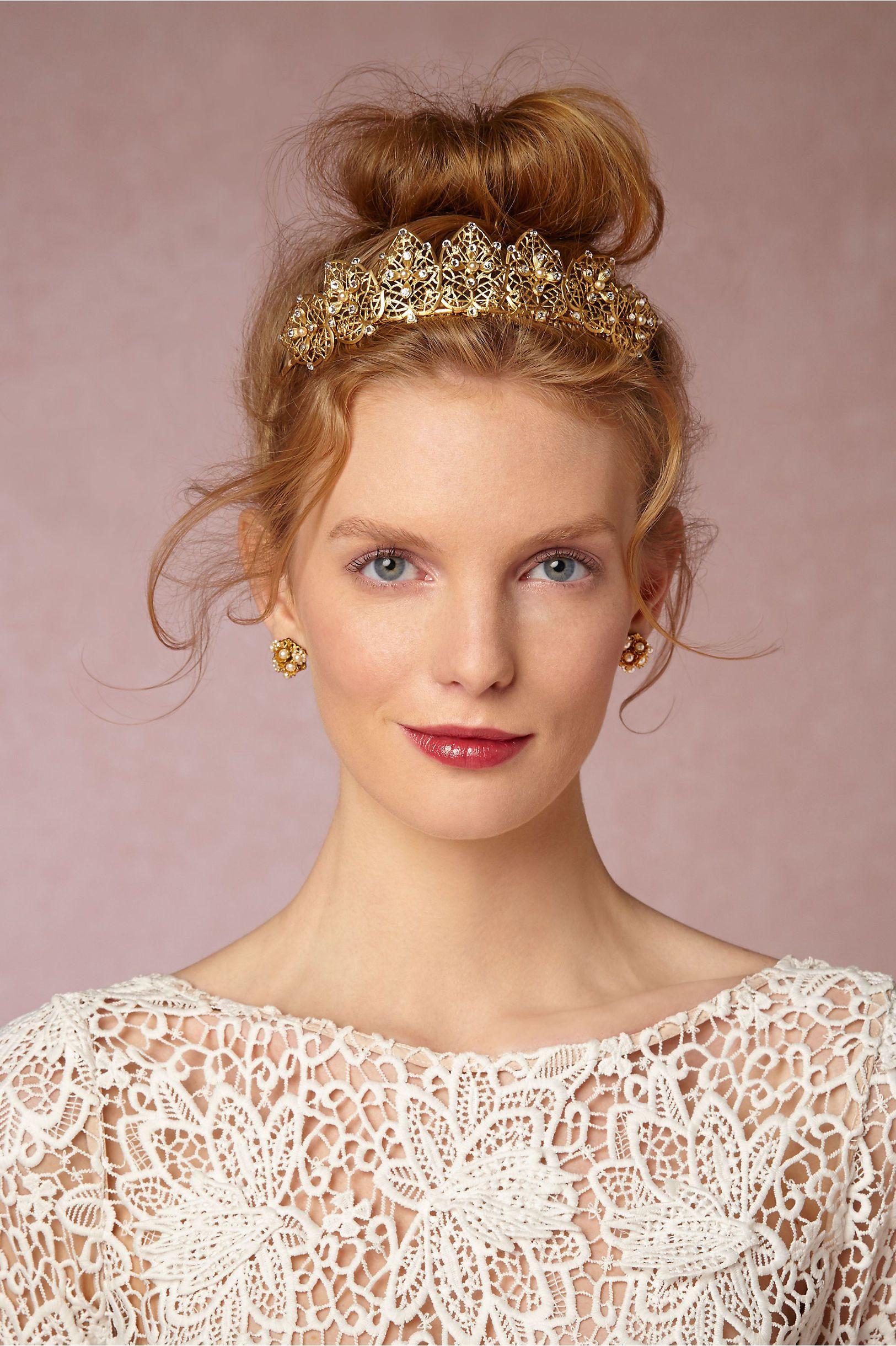 Francesca Tiara by Debra Moreland for BHLDN