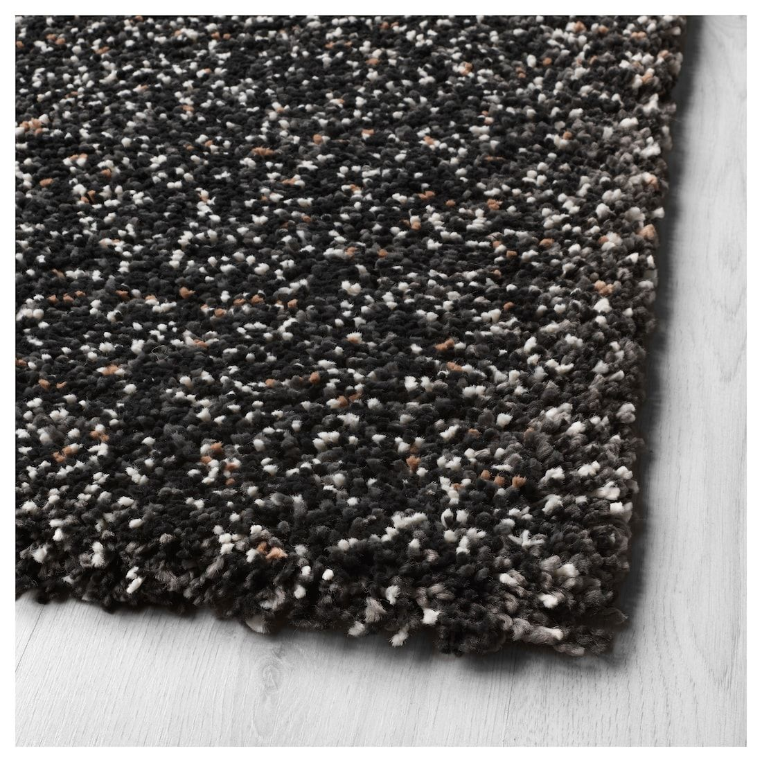Vindum Rug High Pile Dark Gray 6 7 X8 10 Ikea Rugs Ikea How To Clean Carpet