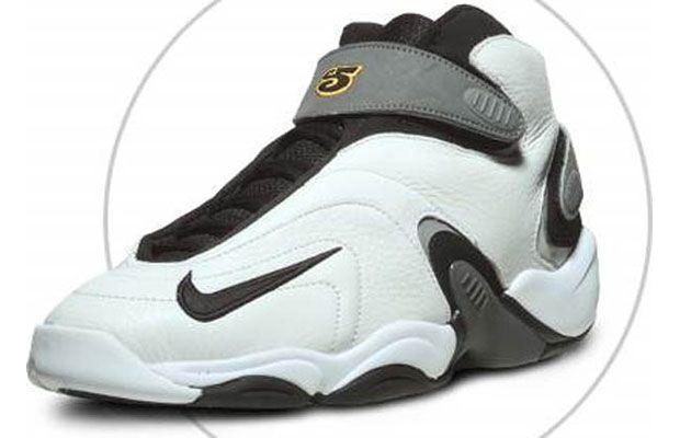 Jordan Pro Strong OG Vin Baker White/White-Black-Mystic Green 136006 131  1998 | My Kicks Collection/Confessions of a Sneakerhead | Pinterest | White  white, ...