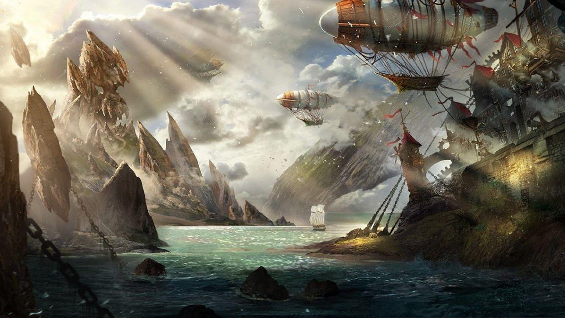 Steampunk Art Wallpaper
