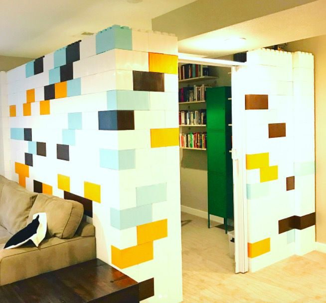 People Are Creating Room Dividers In Open Spaces Demountable