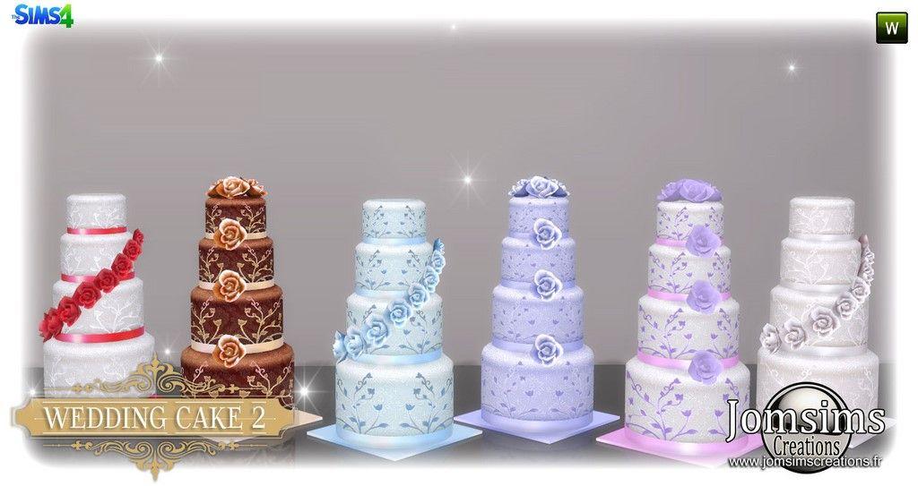 Sims 4 Wedding Cake Cc Sims 4 Sims 4 Wedding Dress Sims