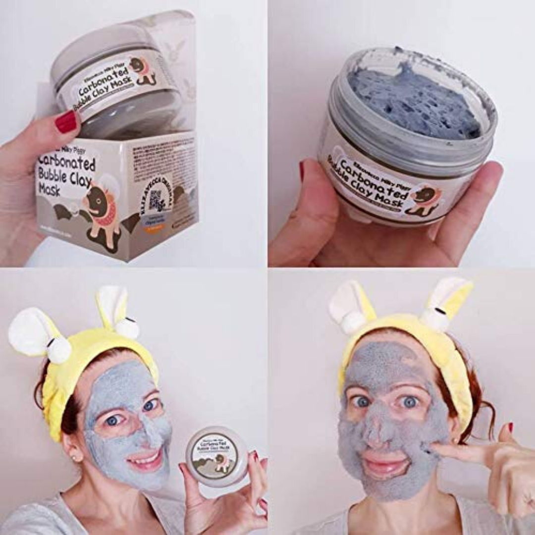 Photo of Milky Piggy Carbonated Bubble Clay Mask – Default Title