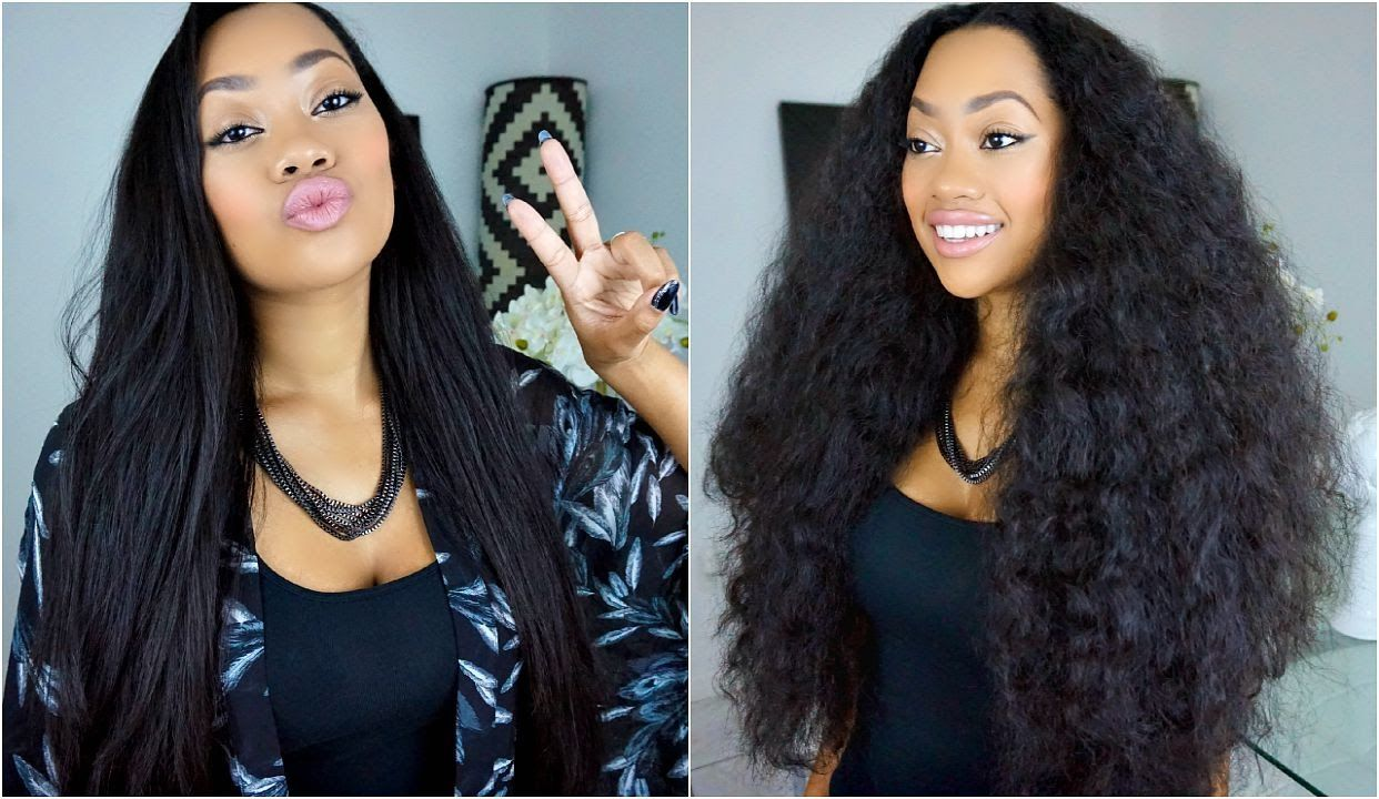 Curly To Straight Hair Styles tips and trik
