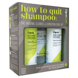 DevaCurl How To Quit Shampoo Set   The Original Cleanse & Condition Curl Kit 3 piece Gallery