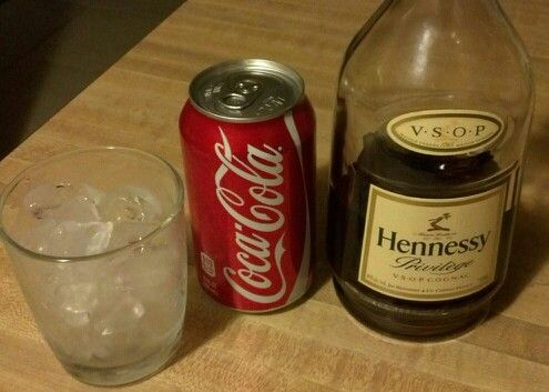 Hennessy & Coke | DRINKS & BOOZE in 2019 | Drinks, Beverages