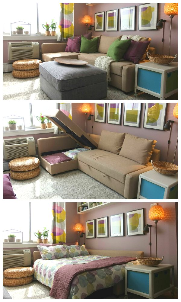 Small Bedroom Ideas With Sofa Bed