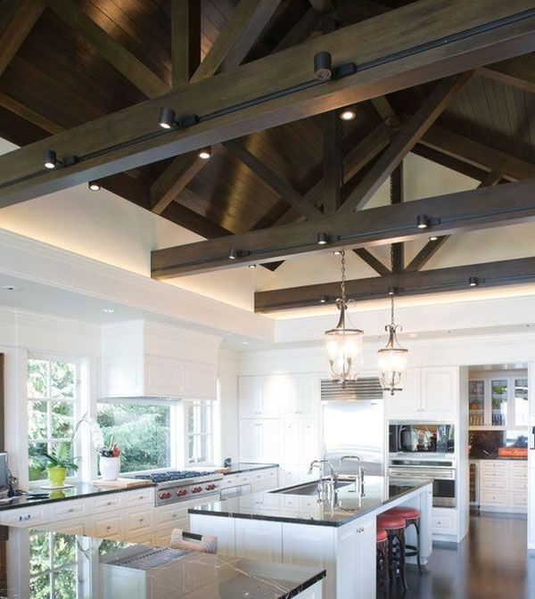 Track Lighting Living Room: Track Lighting Offers A Great Deal Of Versatility And