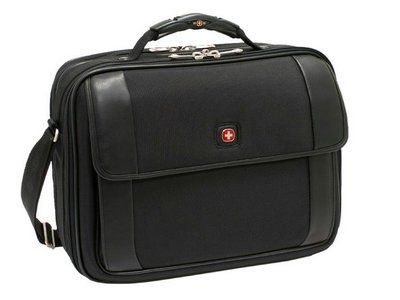 New Swiss Gear By Wenger Comet Computer Bag Expanding Files