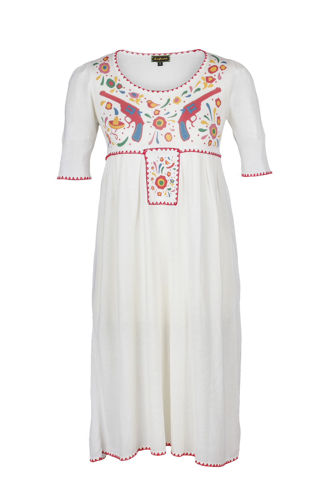 Lena Dress Mexican Style Gorgeous HoschekFolklore Kleidung Edgy VpSUzM